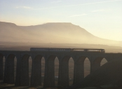 Ribblehead and passenger train