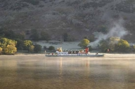 Raven, the biggest steamer on Ullswater