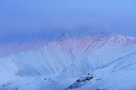 The southern edges of Blencathra under snow